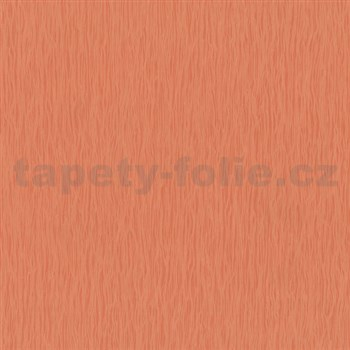 Vliesové tapety na stenu Jackpot - štruktúrovaná oranžová - POSLEDNÝ KUS