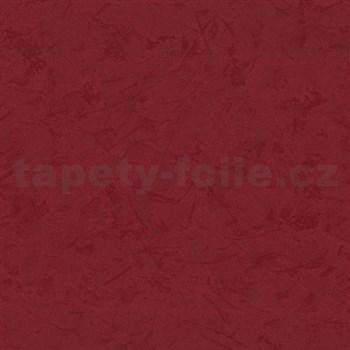 Tapety vliesové - štruktúrovaná omietkovina červená - ZĽAVA