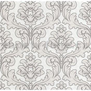 Luxusné vliesové tapety na stenu Brilliance zámocký vzor hnedý