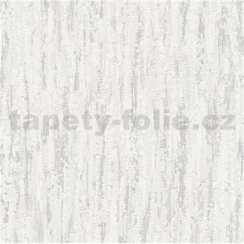 Vliesové tapety na stenu kôra sivá