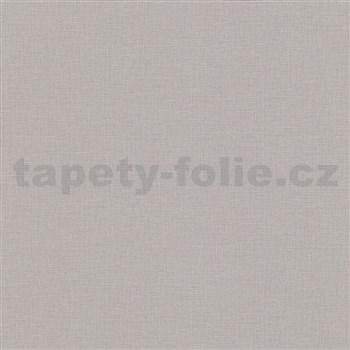 Vliesové tapety IMPOL textilná štruktúra sivá