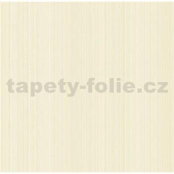 Vliesové tapety na stenu Collection 2 jemné prúžky hnedé