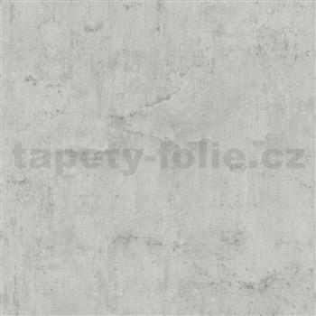 Vliesové tapety na stenu IMPOL Collection beton sivý