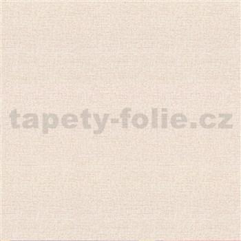 Vliesové tapety na stenu IMPOL štruktúrovaná hnedá so striebornými trblietkami