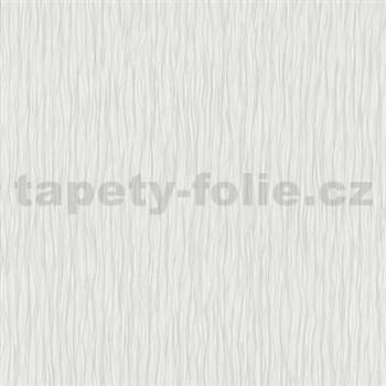 Vliesové tapety na stenu Como - štruktúrované vlnovky sivé