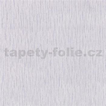 Vliesové tapety na stenu Como - štruktúrovaná fialová s fialovo-striebornými pásky