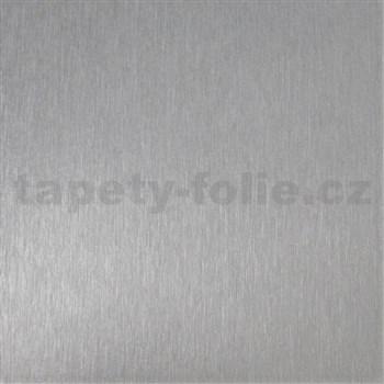 Samolepiaca tapeta stříbrná platina  - 90 cm x 15 m