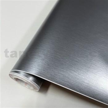 Samolepiaca tapeta kartáčovaný kov - 67,5 cm x 10 m
