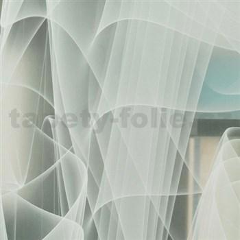 Statické fólie transparentné Murano 45 cm x 15 m