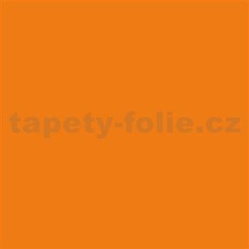 Samolepiace tapety d-c-fix - oranžová 45 cm x 15 m