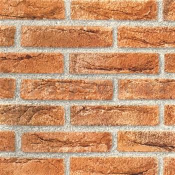 Samolepiace tapety d-c-fix tehla hnedá 45 cm x 15 m