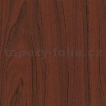 Samolepiace tapety d-c-fix - mahagón tmavý 45 cm x 15 m