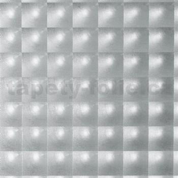 Samolepiace tapety d-c-fix transparentné štvorčeky 45 cm x 15 m