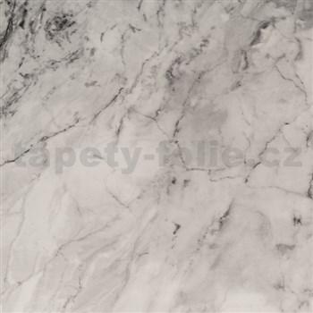 Samolepiaca tapeta mramor sivý  - 45 cm x 15 m