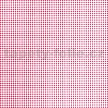 Samolepiace tapety d-c-fix - karovaná ružová 45 cm x 15 m