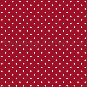 Samolepiace tapety d-c-fix - červená s bodkami 45 cm x 15 m
