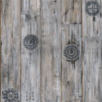 Samolepiace tapety d-c-fix - vintage wood 45 cm x 15 m