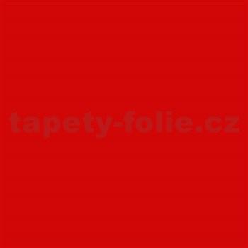 Samolepiace tapety dc-fix - červená matná 67,5 cm x 2 m