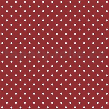 Samolepiaca tapeta bodky červené  - 45 cm x 2 m (cena za kus)
