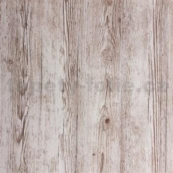 Samolepiaca tapeta štruktúrované drevo sivé - 67,5 cm x 2 m (cena za kus)