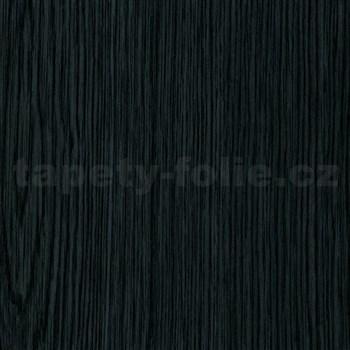 Samolepiace tapety d-c-fix - čierne drevo 90 cm x 15 m