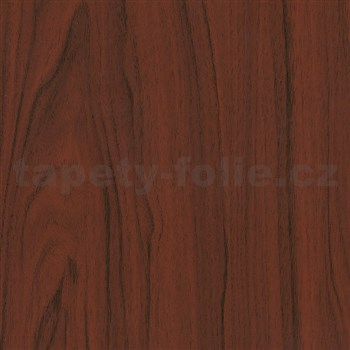 Samolepiace tapety d-c-fix - mahagón tmavý 90 cm x 15 m