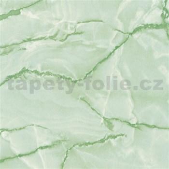 Samolepiace tapety d-c-fix - mramor aquarell zelená 90 cm x 15 m - DOPREDAJ