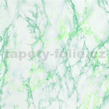 Samolepiace tapety d-c-fix - mramor svetlo zelený 90 cm x 15 m
