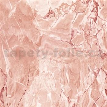 Samolepiace tapety d-c-fix - mramor cortes hrdzavá 90 cm x 15 m