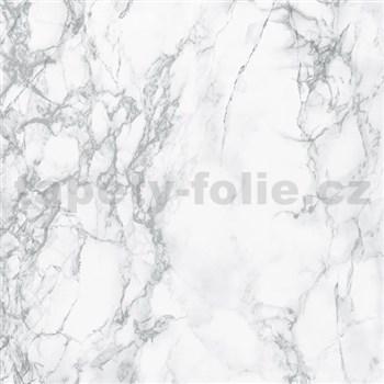 Samolepiace tapety d-c-fix - mramor marmi sivá, metráž, šírka 67,5 cm, návin 15 m,