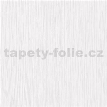 Samolepiace tapety d-c-fix - biele drevo matné, metráž, šírka 67,5 cm, návin 15 m,