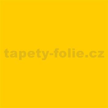 Samolepiace tapety d-c-fix - cejlonská žltá matná , metráž, šírka 67,5 cm, návin 15 m,