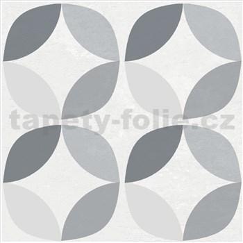 Vinylové samolepiace podlahové štvorce Classic geometrický vzor rozmer 30,5 cm x 30,5 cm