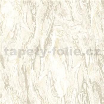Vliesové tapety na stenu Nubia mramor svetlo hnedý