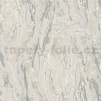 Vliesové tapety na stenu Nubia mramor sivo-hnedý