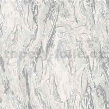 Vliesové tapety na stenu Nubia mramor sivý