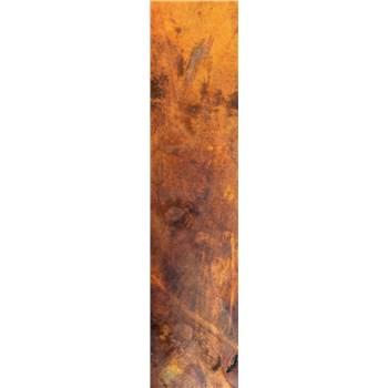 Samolepiace dekoračné pásy medený kovový plát rozmer 60 cm x 260 cm