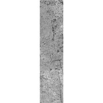 Samolepiace dekoračné pásy betón sivý rozmer 60 cm x 260 cm