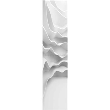 Samolepiace dekoračné pásy futuristické vlny rozmer 60 cm x 260 cm