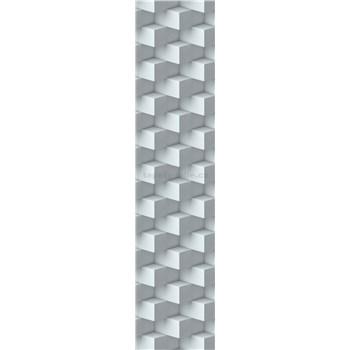 Samolepiace dekoračné pásy 3D kocky rozmer 60 cm x 260 cm