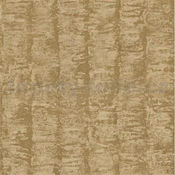 Luxusné vliesové tapety na stenu G.M.Kretschmer Deluxe pruhy zlaté