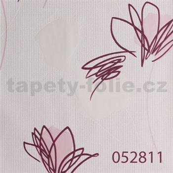 Tapety na stenu Suprofil - kvety svetlo ružové