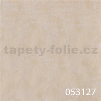 Tapety na stenu La Veneziana - kovový vzhľad - krémový