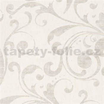 Tapety na stenu La Veneziana 2 - barokový vzor svetlo hnedý