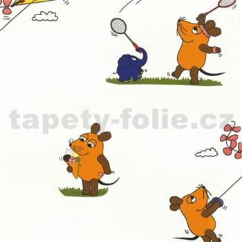 Tapety na stenu Die Maus myška a pratelia športujú