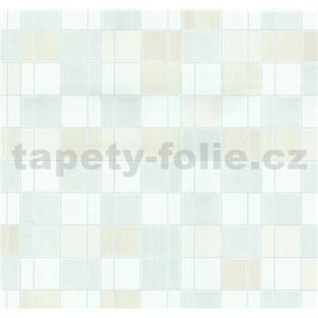 Vliesové tapety na stenu Easy Wall obklad kachličky béžové, krémové, biele