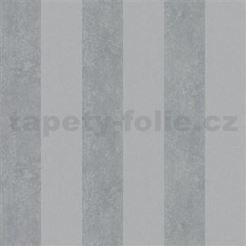 Vliesové tapety na stenu Ella pruhy sivé