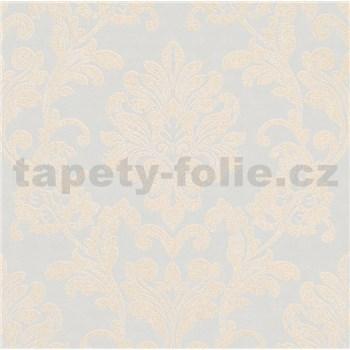 Vliesové tapety na stenu Ella zámocký vzor krémový