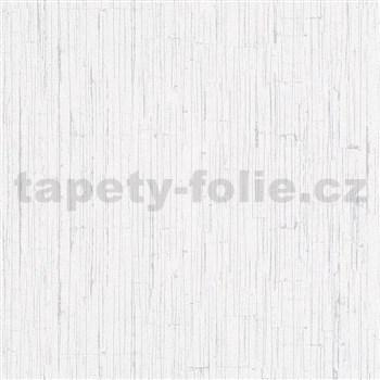 Vliesové tapety na stenu Ella štruktúrovaná omietka biela
