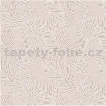 Vliesové tapety na stenu IMPOL Paradisio 2 listy bielo-krémové